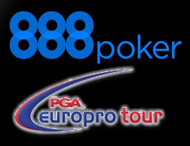 888 Poker continuará patrocinando PGA EuroPro Tour