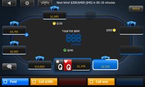 888Poker anuncia la actualización de su app para torneos multimesa
