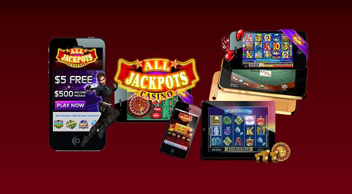 El casino All Jackpots lanza una aplicación móvil