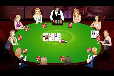 El número de jugadoras de póquer de casino social está aumentando