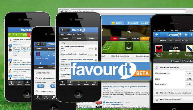 Favourit lanza una aplicación de apuestas deportivas para iOS