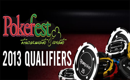 Gane asientos en el PokerFest 2013 gracias a Titan Poker