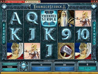 Juega a Thunderstruck II gratis en Royal Vegas Online Casino