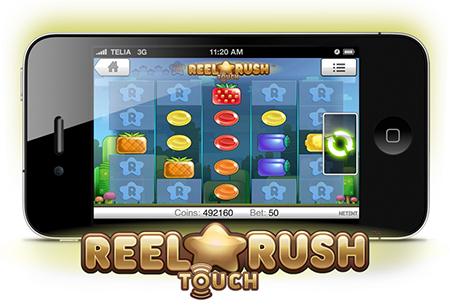 Net Entertainment lanza Reel Rush Touch