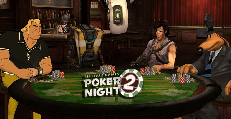 Poker Night 2 disponible mediante pedido por adelantado.