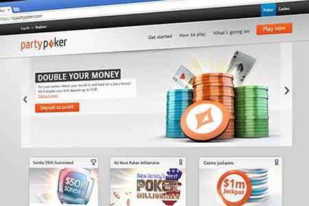 Party Poker lidera el mercado del juego online de Nueva Jersey