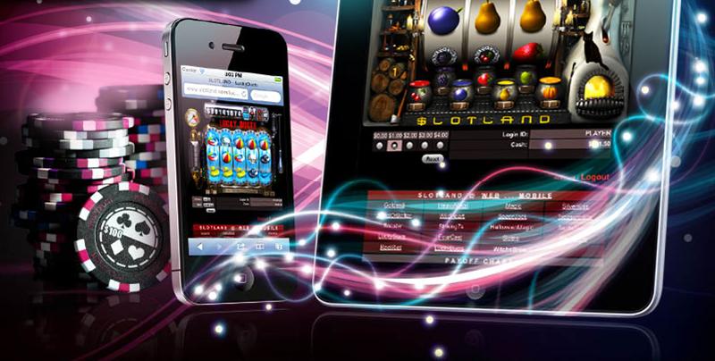 Slotland publica una nueva interfaz para móviles